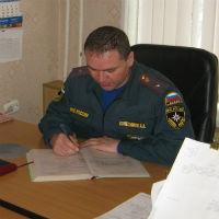 Троичанин Алексей Колесников стал лучшим руководителем в системе МЧС России