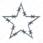 depositphotos 2049787 stock photo barbed wire star shaped